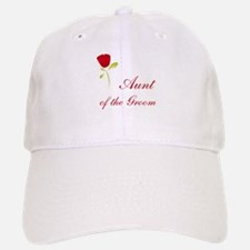 Red Groom's Aunt Baseball Baseball Cap
