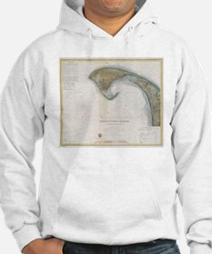 Vintage Map of Provincetown Jumper Hoody