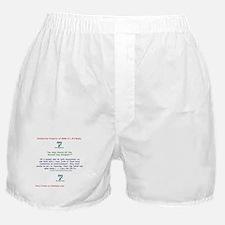 Reverend Lucy Für Proclaims! Boxer Shorts