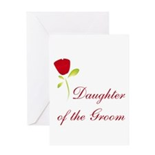 Red Groom's Daughter Greeting Card