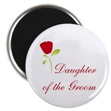 "Red Groom's Daughter 2.25"" Magnet (10 pack)"