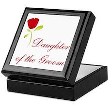 Red Groom's Daughter Keepsake Box