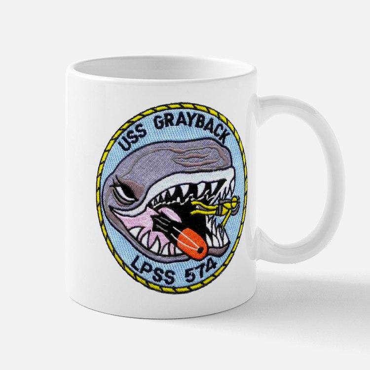 USS GRAYBACK Small Small Mug