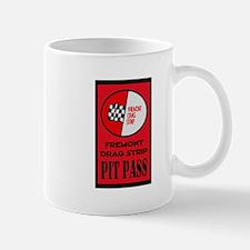 Fremont Drag Strip Pit Pass Mugs