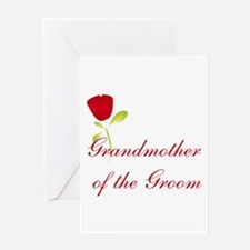 Red Groom's Grandmother Greeting Card