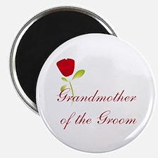 "Red Groom's Grandmother 2.25"" Magnet (10 pack)"