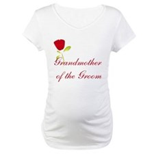 Red Groom's Grandmother Shirt