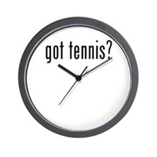 got tennis Wall Clock
