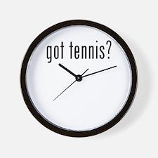 got tennis Wall Clock