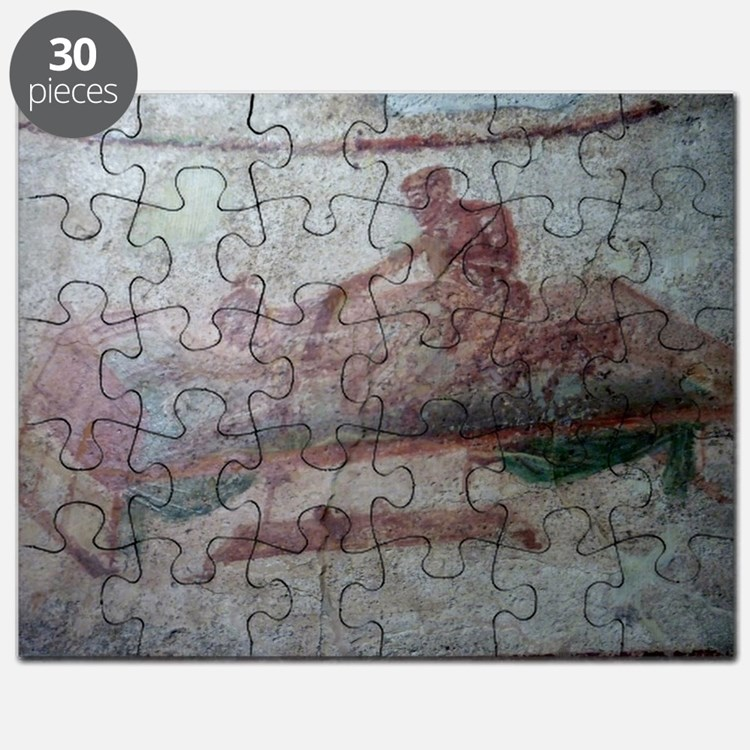 FRESCO EN POMPEYA Puzzle