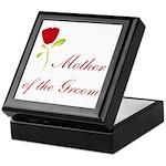 Red Groom's Mother Keepsake Box