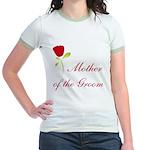Red Groom's Mother Jr. Ringer T-Shirt