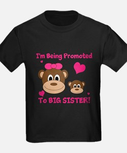 Being Promoted to Big Sister T-Shirt