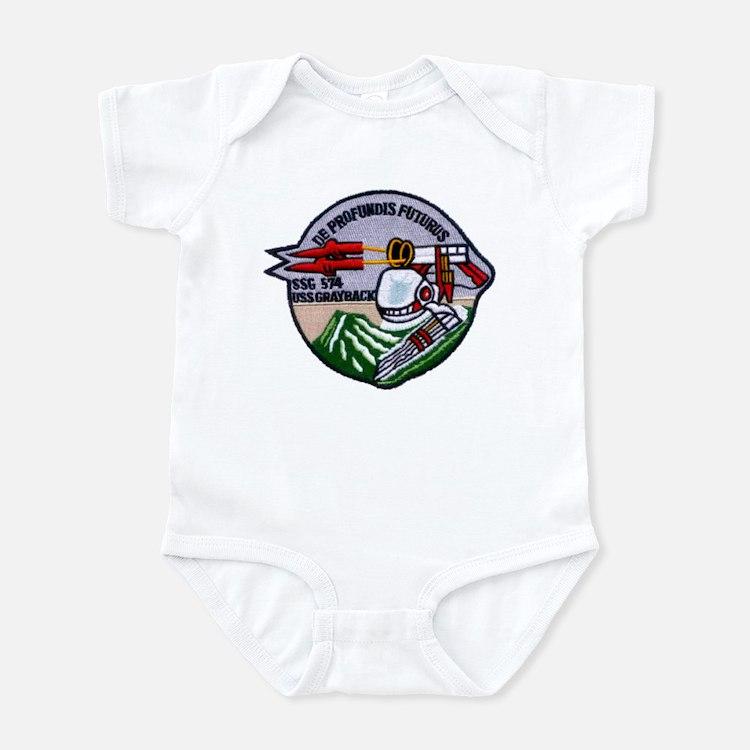 USS GRAYBACK Infant Bodysuit