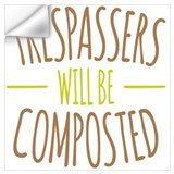 Composted Wall Decals