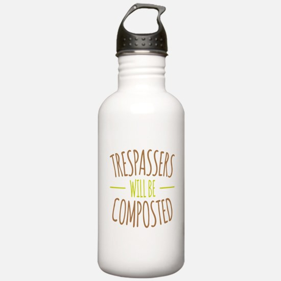 Trespassers Composted Water Bottle