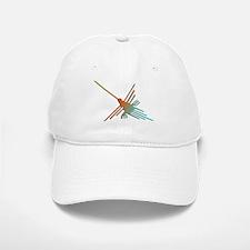 Colorful 3D Nazca Lines Hummingbird Baseball Baseball Cap