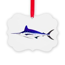 Striped Marlin v2 Ornament