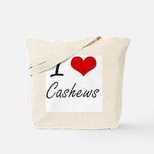 I love Cashews Artistic Design Tote Bag