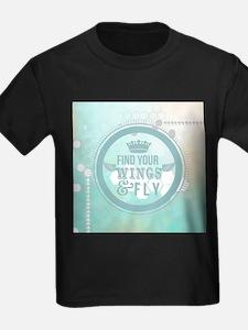 modern mint positive vibes T-Shirt