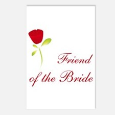 Red Bride's Friend Postcards (Package of 8)