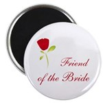 Red Bride's Friend Magnet