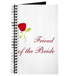 Red Bride's Friend Journal