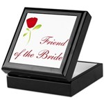 Red Bride's Friend Keepsake Box