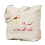 Red Bride's Friend Tote Bag