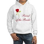 Red Bride's Friend Hooded Sweatshirt