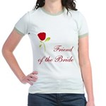 Red Bride's Friend Jr. Ringer T-Shirt