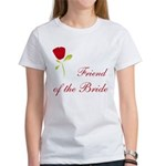 Red Bride's Friend Women's T-Shirt