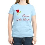 Red Bride's Friend Women's Light T-Shirt