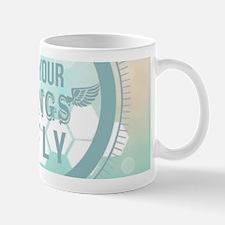 modern mint positive vibes Mugs