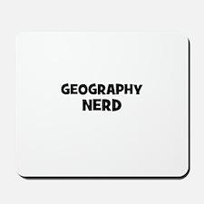 Geography Nerd Mousepad