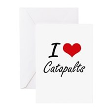 I love Catapults Artistic Design Greeting Cards