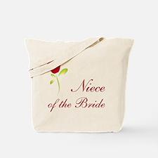 Red Bride's Niece Tote Bag