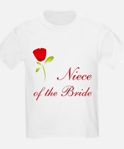 Red Bride's Niece T-Shirt