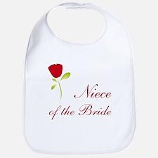 Red Bride's Niece Bib