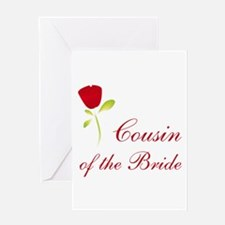 Red Bride's Niece Greeting Card