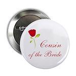 Red Bride's Niece Button