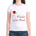 Red Bride's Niece Jr. Ringer T-Shirt
