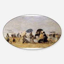 Eugene Boudin - Beach Scene Decal