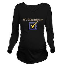 Unique West virginia mountaineers men%27s Long Sleeve Maternity T-Shirt
