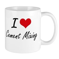 I love Cement Mixing Artistic Design Mugs