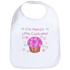 Nana's Little Cupcake Bib