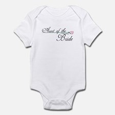 Elegant Aunt of the Bride Infant Bodysuit