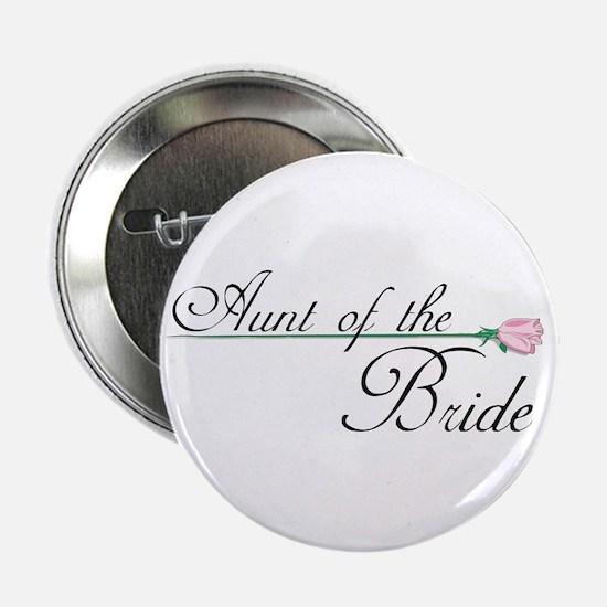 Elegant Aunt of the Bride Button