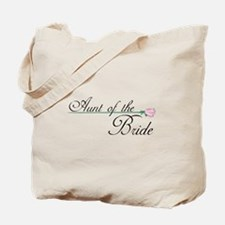 Elegant Aunt of the Bride Tote Bag