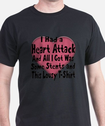 Unique Heart attack T-Shirt